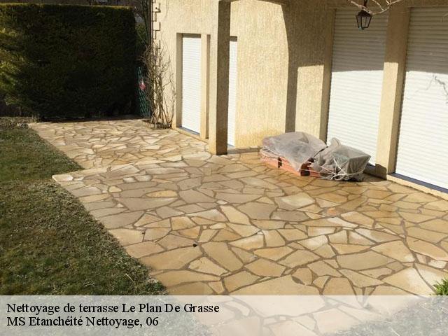 Nettoyage De Terrasse Et Dallage à Le Plan De Grasse Tél